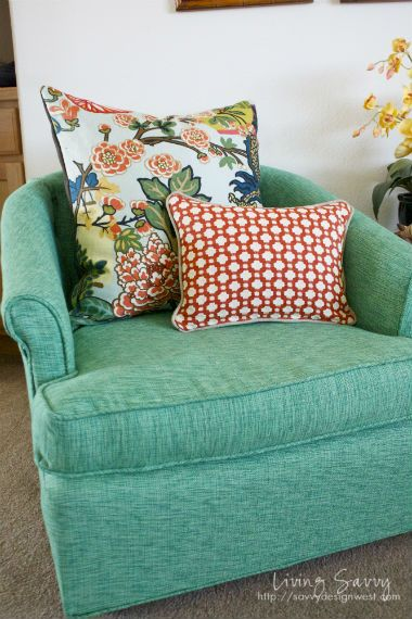 living savvy how to reupholster a club chair