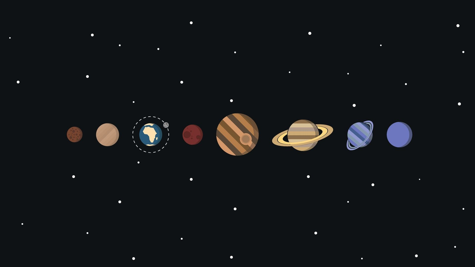 Solar System System Wallpaper Desktop Wallpaper Art Computer Wallpaper Desktop Wallpapers