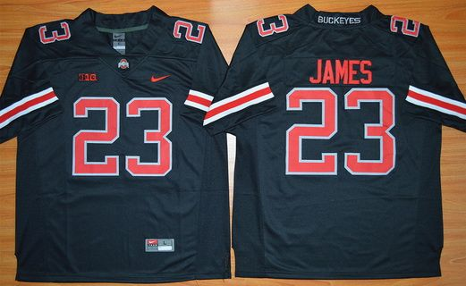 black ohio state football jersey