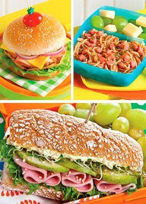 recetas de lunch para toda la semana