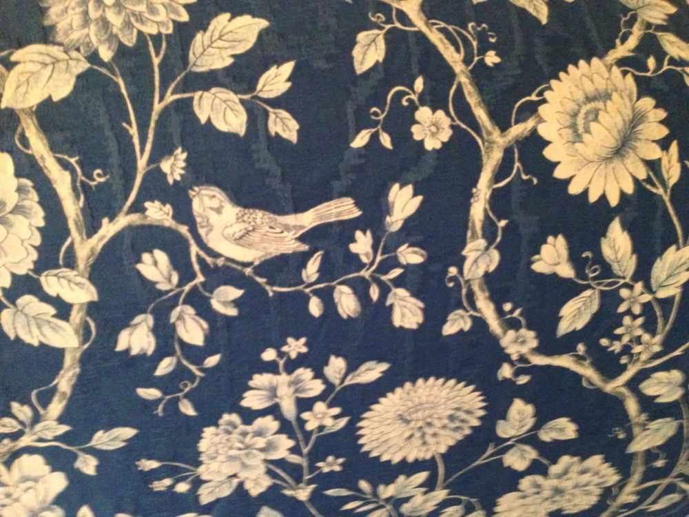 Custom Made Slipcover For Camelback Sofa Waverly Chinoiserie Fabric
