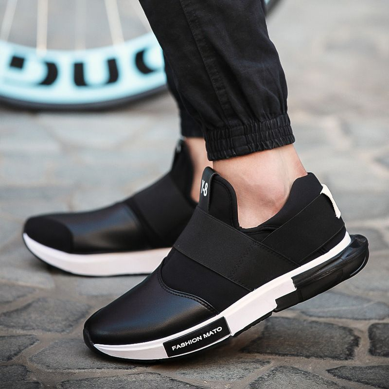 Espadrilles Mens Casual Shoes Student Canvas Shoes Outdoor Exercise Sneakers Flat Loafers Deck Shoes (Color : Black Size : 39)