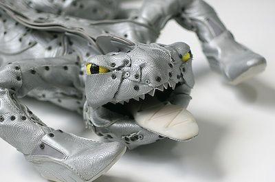 Fredirico Uribe Shoe Sculpture