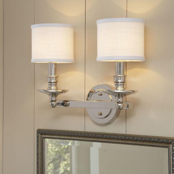 Hollister 2-Light Vanity Light | Birch lane, Traditional furniture ...