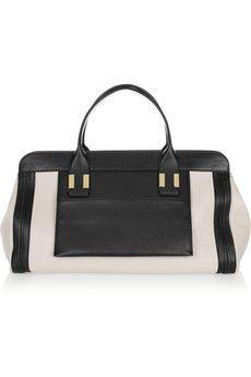 ChloéThe Large Tri-tone Leather Clutch Vente Pas Cher Populaire Sortie D'usine De Livraison Gratuite dR8Ed