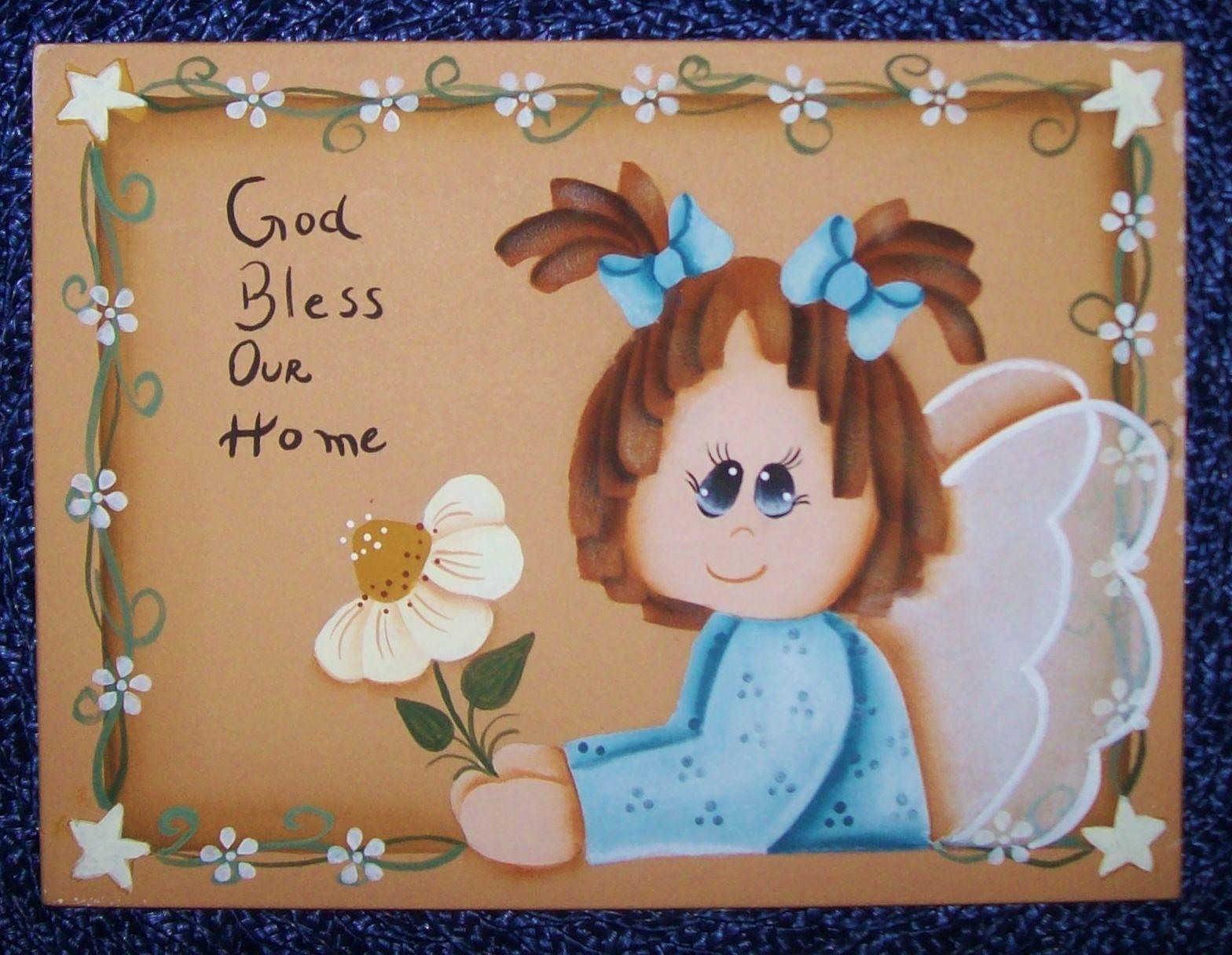 Placa decorativa - Angel