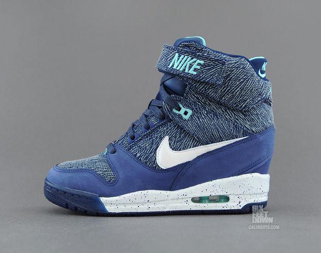 pretty nice fe4e5 c9327 Nike Wmns Air Revolution Sky Hi QS (633525 400) - Caliroots.com