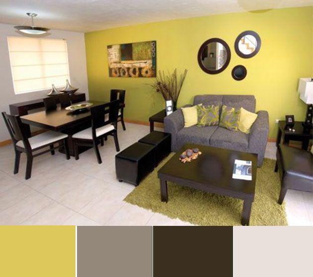 40 combinaciones de colores para pintar un salón ...