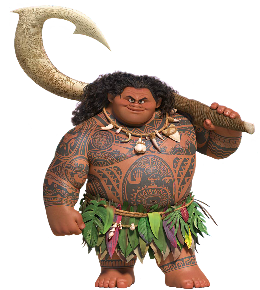 Moana Maui 01 Png 1075 1200 Moana Da Disney Tatuagem Maui Desenhos Moana