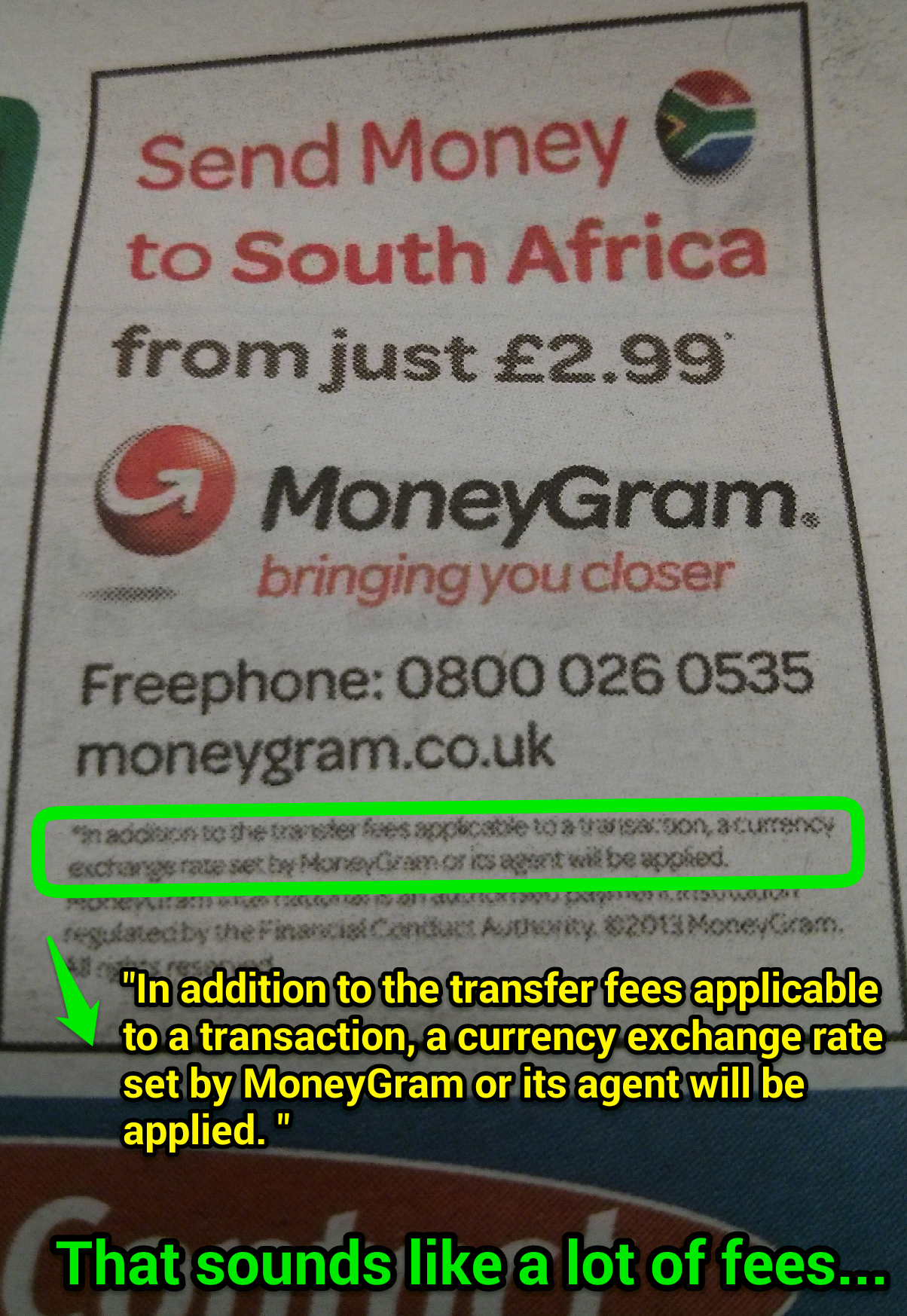 Moneygram Are Claiming That This Fee Will Be The Only One You Need To Transfer Money Abroad What Exposed Hidden Cost Of Foreign Exchange