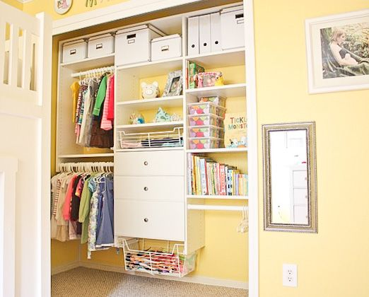 28 Great Home Organization Ideas Organize kids closets Ikea