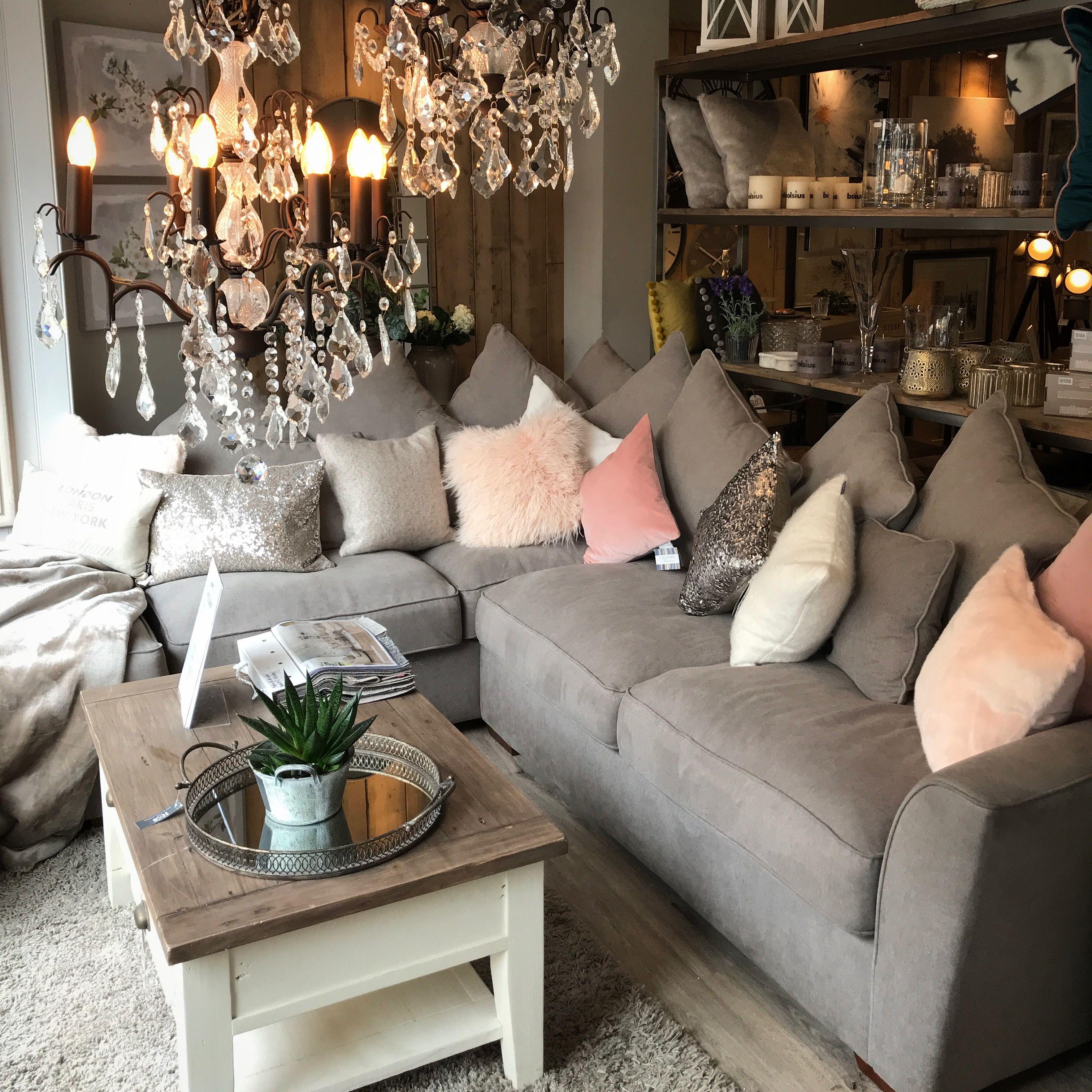 Holland Corner Sofa With Footstool Corner Sofa Sofa Home Decor