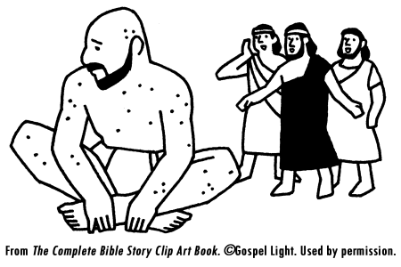 job coloring pages bible - photo#23