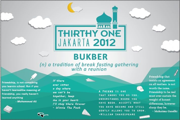 Banner Design For Breakfasting Event And Reunion Of Junior High School Jakarta Desain Banner