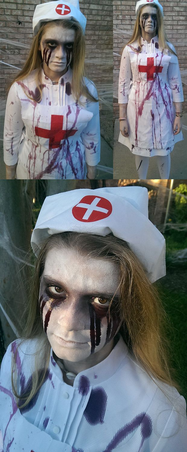 38fc74bc16062 scary vintage asylum nurse costume - Google Search | Haunted House ...