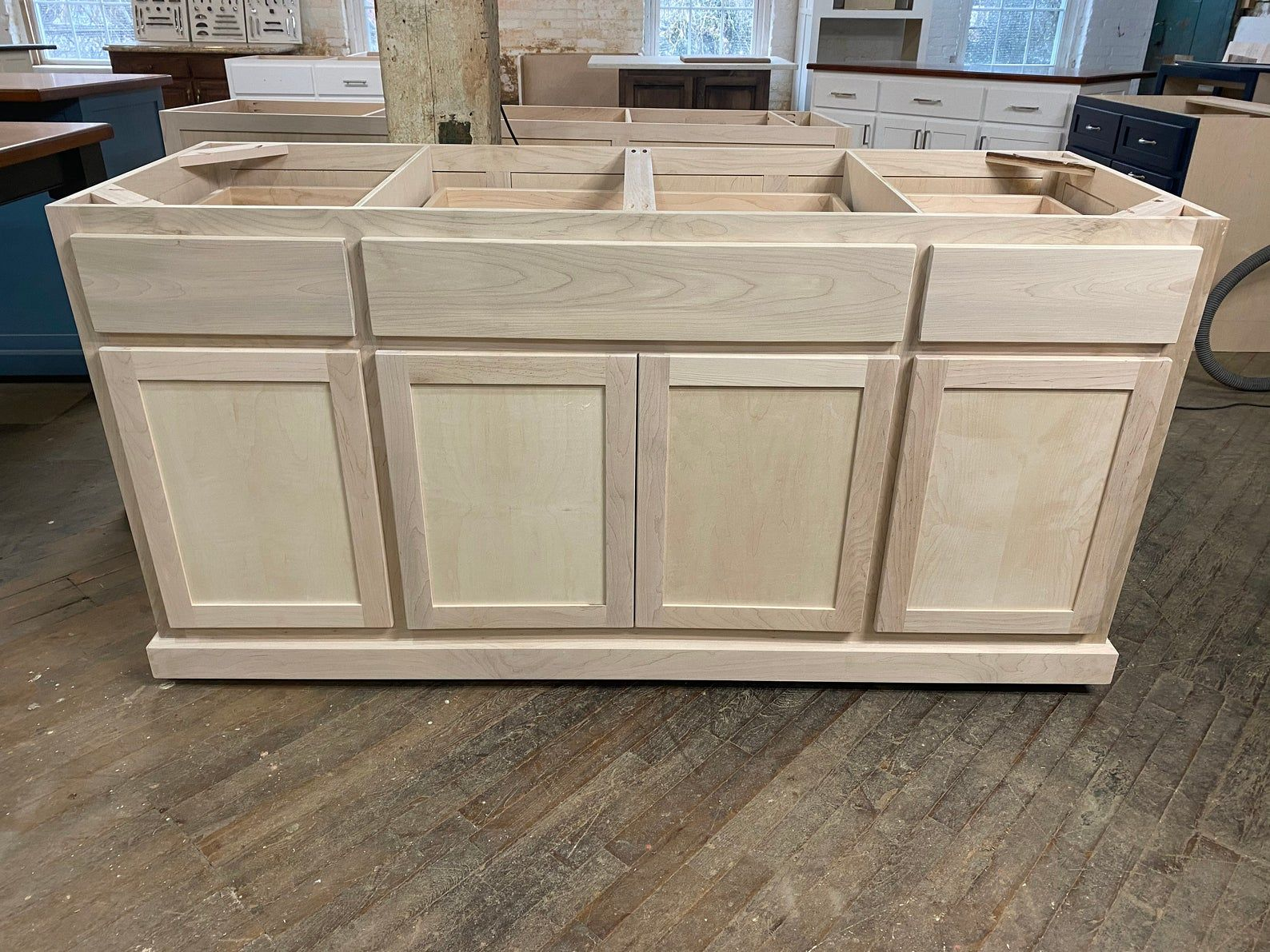 Diy Ready To Paint Cabinet Kitchen Island Custom In 2021 Kitchen Island Cabinets Custom Kitchen Island Kitchen Island With Seating