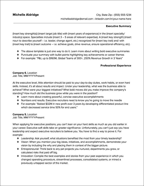 Premium Resume Templates Executive Resume Template Executive Resume Resume Template