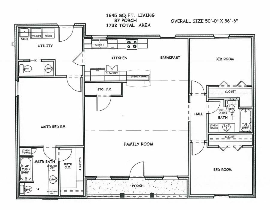 Large Square House Plans Spacious Living Space Two
