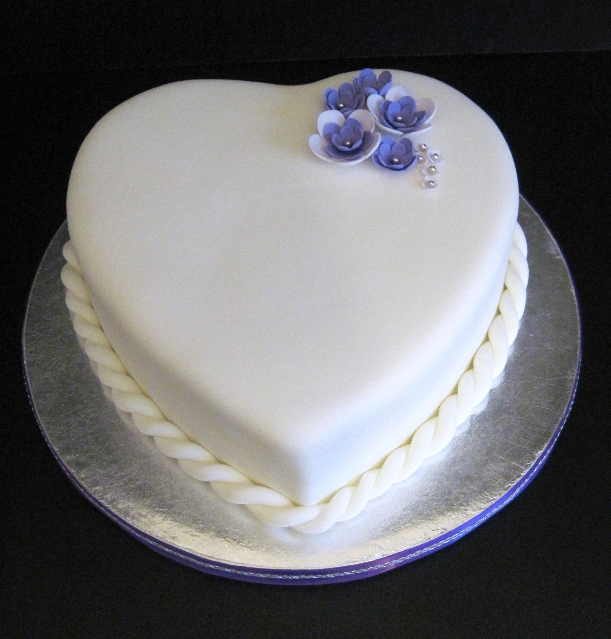 simple 25th wedding anniversary cakes Google Search