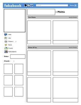 Facebook Template For Students Printable from i.pinimg.com