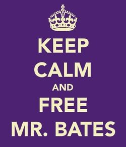 Free Bates now!  Yeah!!! I am not the only weirdo who likes Downtown Abbey!! Except my mother ofcourse.....