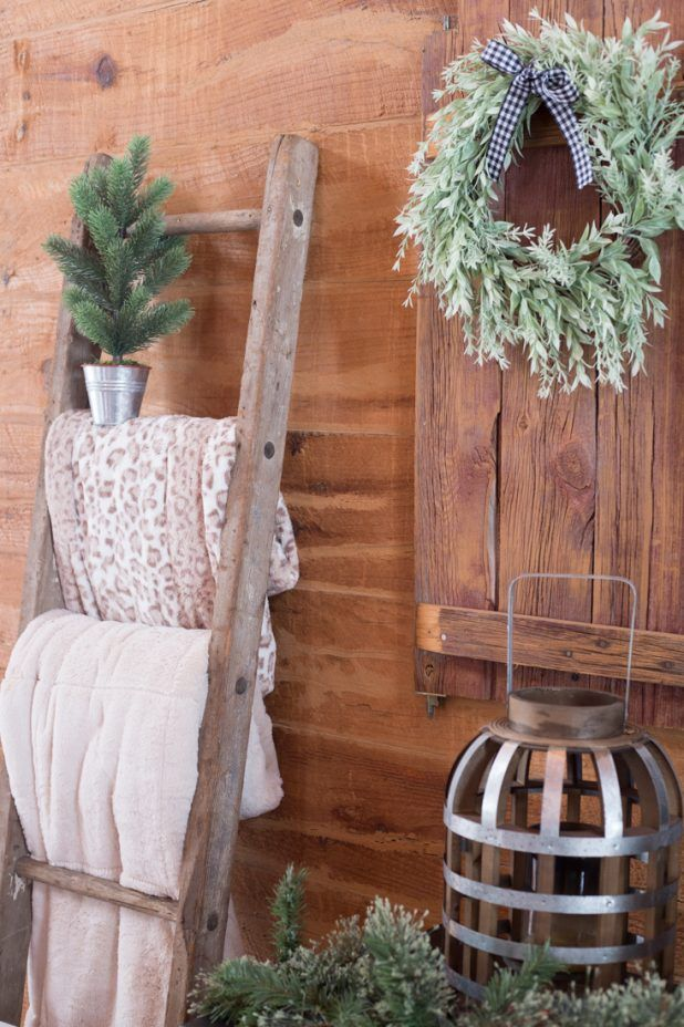 Rustic Christmas Cabin Home Decor Christmas Cabin