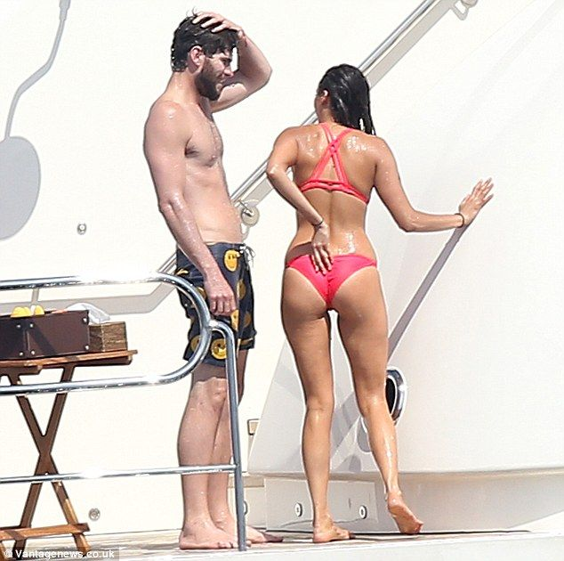Nina Dobrev in Red Bikini Hot Personal Pics Pic 34 of 35