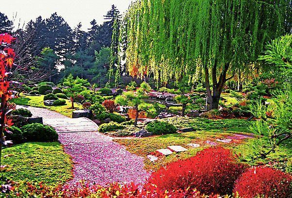 Denver Botanical Gardens.   Arte, Jardines