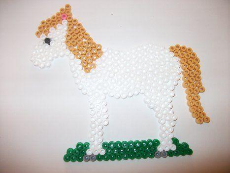 Hama Beads Single Pegboard 281 Horse