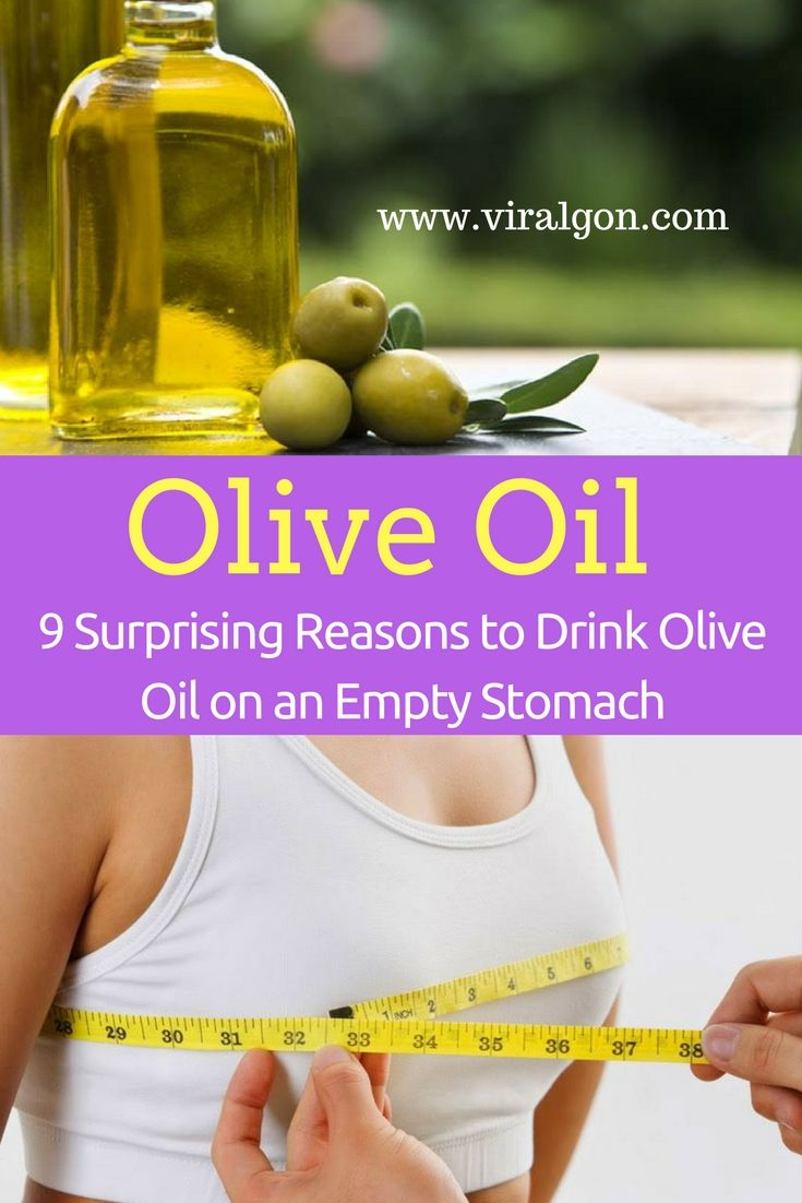 Why drink olive oil on an empty stomach? 51