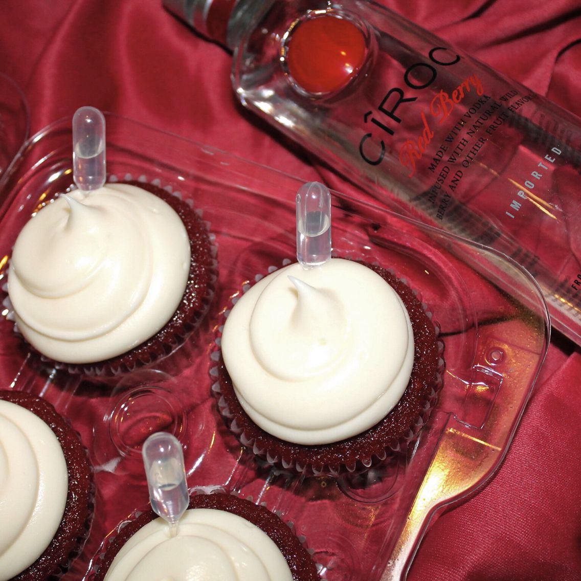 Ciroc Red Berry Cupcakes!