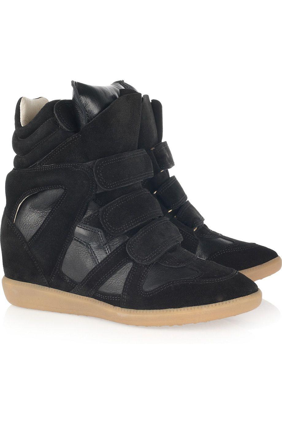 eb64eea1ea64 Isabel Marant Bekket High-Top Sneakers