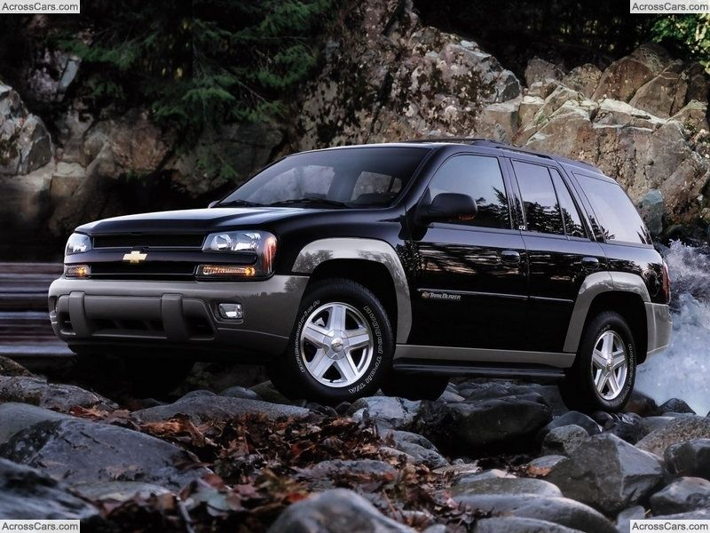 Chevrolet TrailBlazer (2002) Chevy, Automoviles