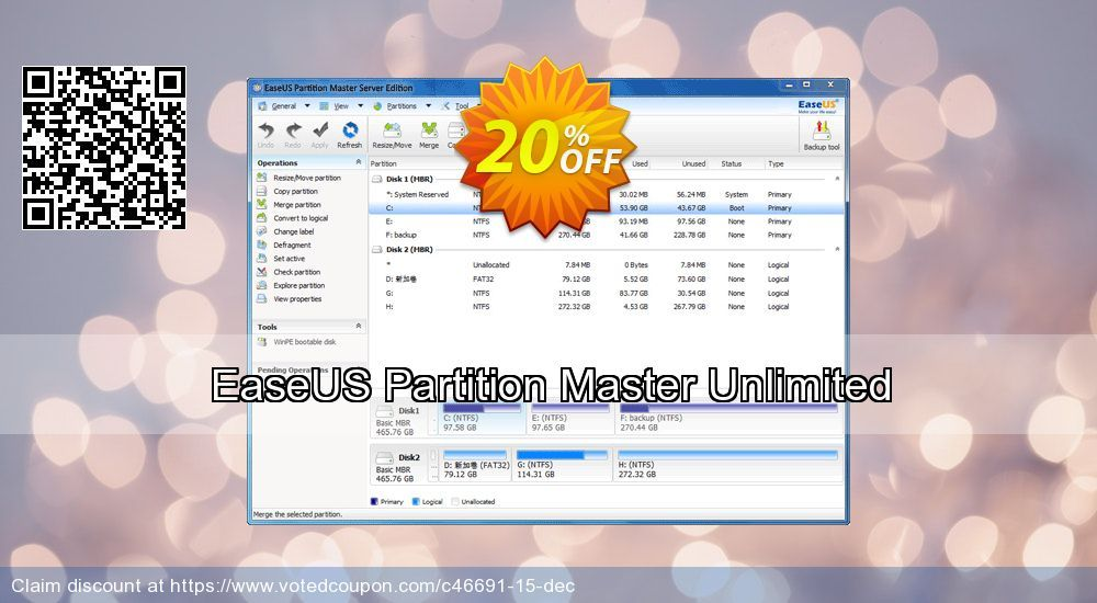 Easeus Partition Master Unlimited Coupon On April Fool Day