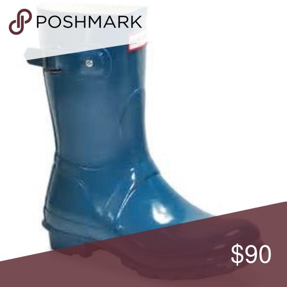 be9c650a865 Short hunter boots Size 7 short hunters Louis Vuitton Shoes Winter   Rain  Boots