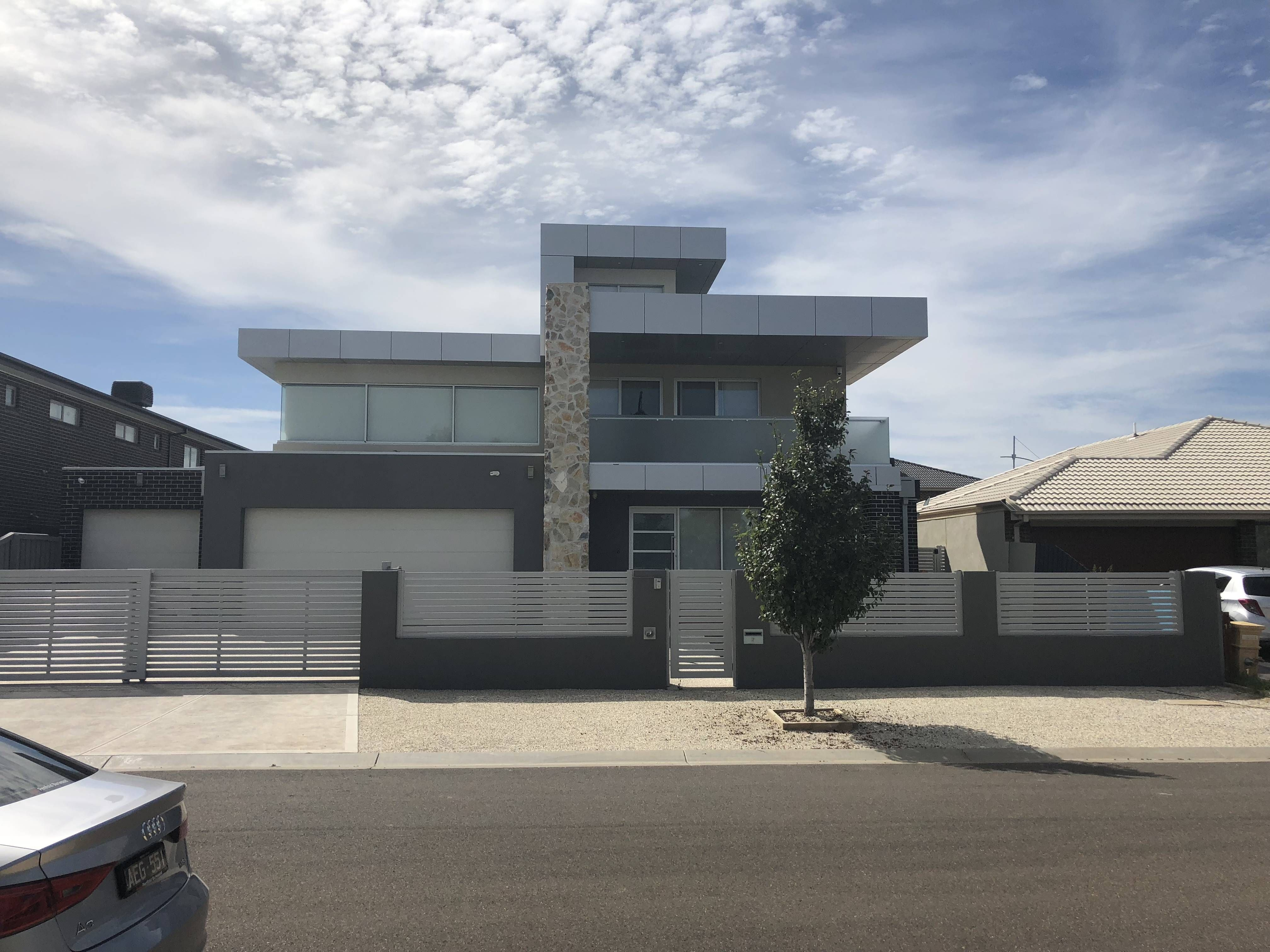 Triple story residence located in taylors hill under the melton city council subdivision