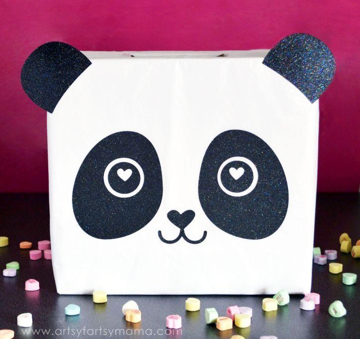 panda bear cv template