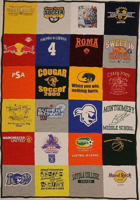 T Shirt Quilt Backing Ideas