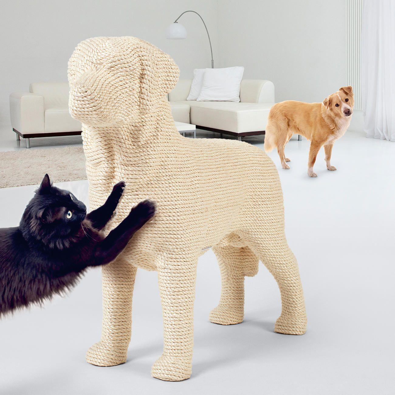 nicht gerade ein g nstiger kratzbaum aber die idee ist genial geschenkideen f r hundefreunde. Black Bedroom Furniture Sets. Home Design Ideas