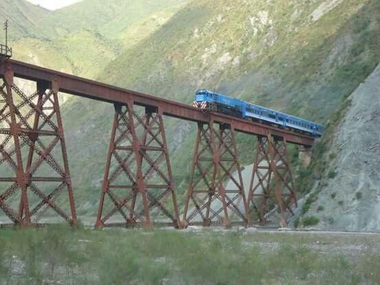 Tren de las nubes. Salta. Argentins