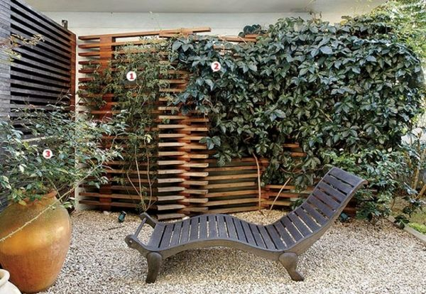 Holzzaun Und Sichtschutz Aus Holz Im Garten Bauen | Garten ... Sichtschutz Im Garten 15 Holzzaun Design Ideen