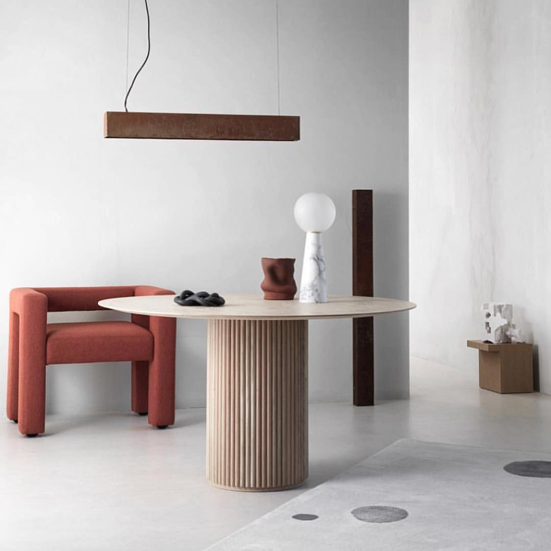 Asplund Collection Palais Royal Dining Table By Anya Sebton And Liljalowenhielm Styling Minimalist Interior Decor Modern Interior Design Minimalist Interior