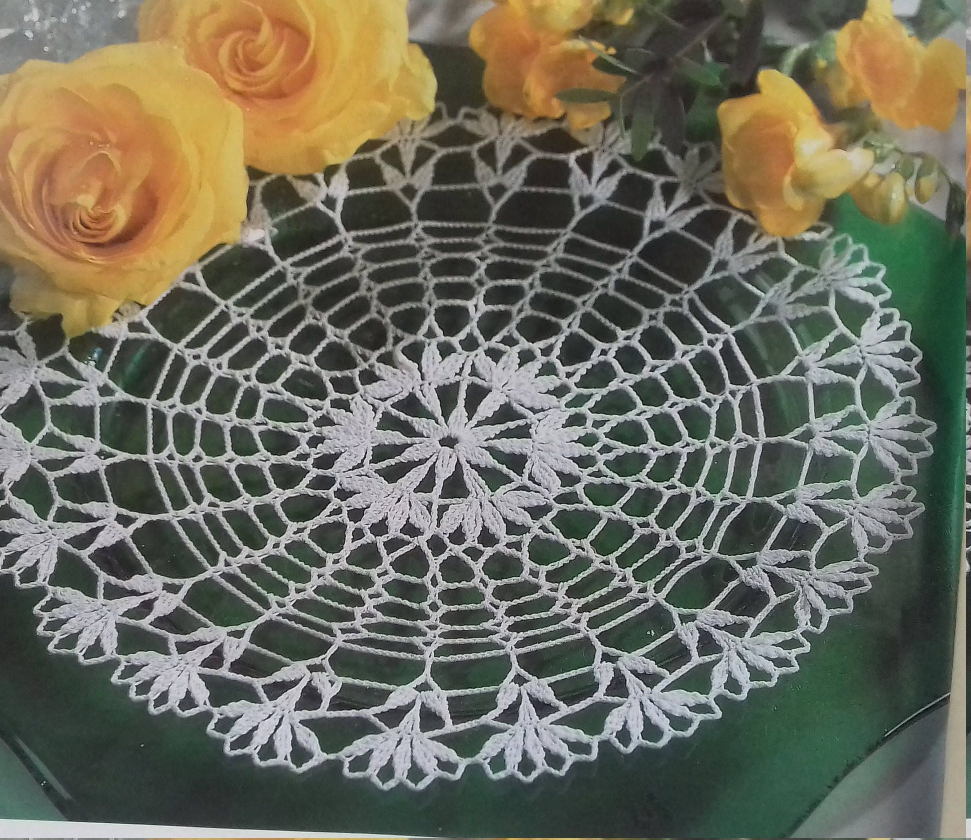 Hand crochet doily cotton lace home dcor vintage crochet pattern 11 hand crochet doily cotton lace home dcor vintage crochet pattern 11 inch cozy house antique style dt1010fo