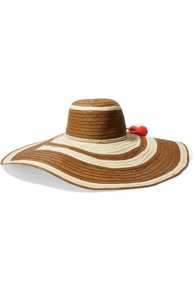 f2350e94cbc SOPHIE ANDERSON Corozon pompom-embellished woven straw hat.  sophieanderson   hats
