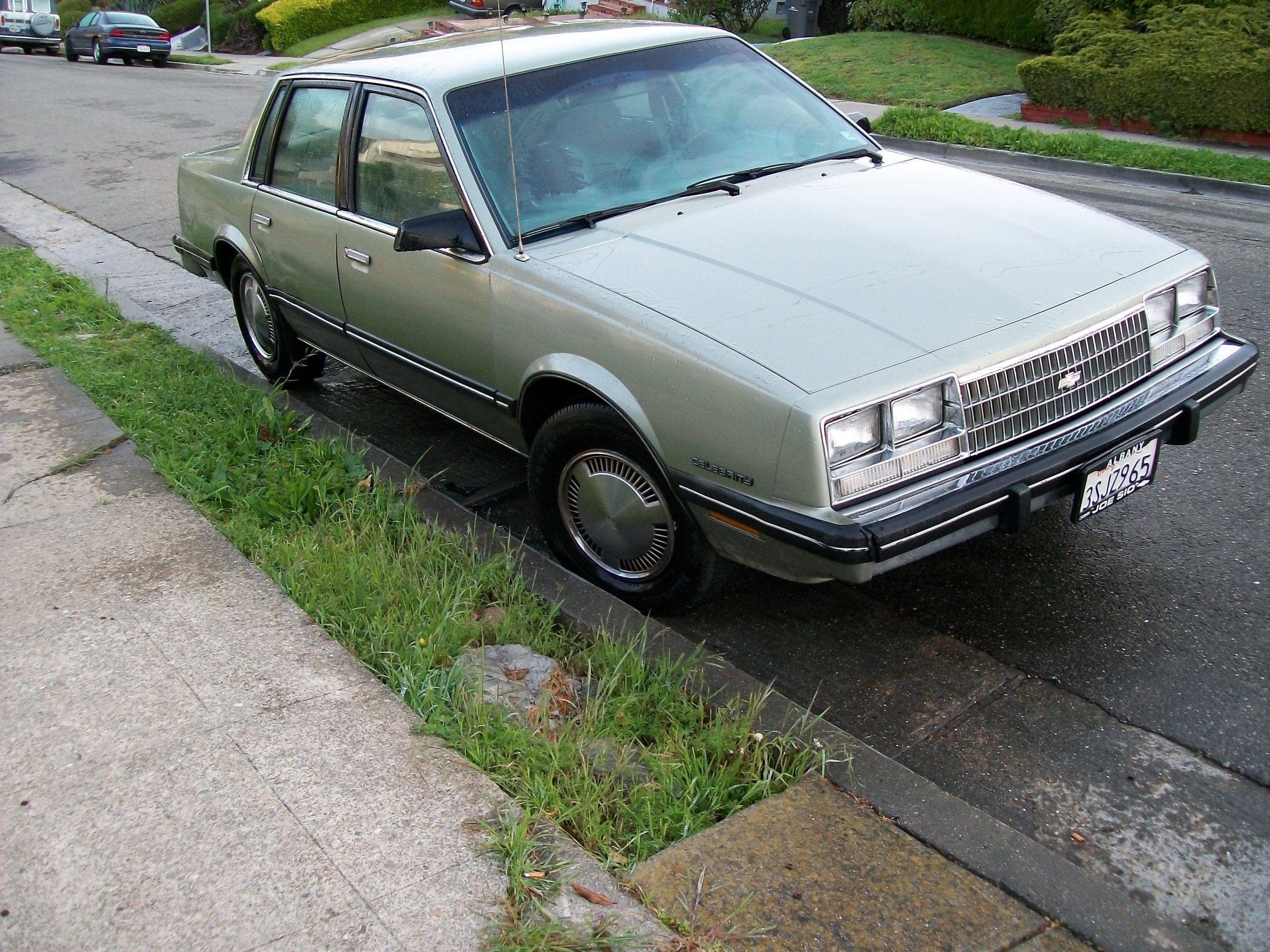 nitromyke's 1984 Chevrolet Celebrity - CarDomain.com