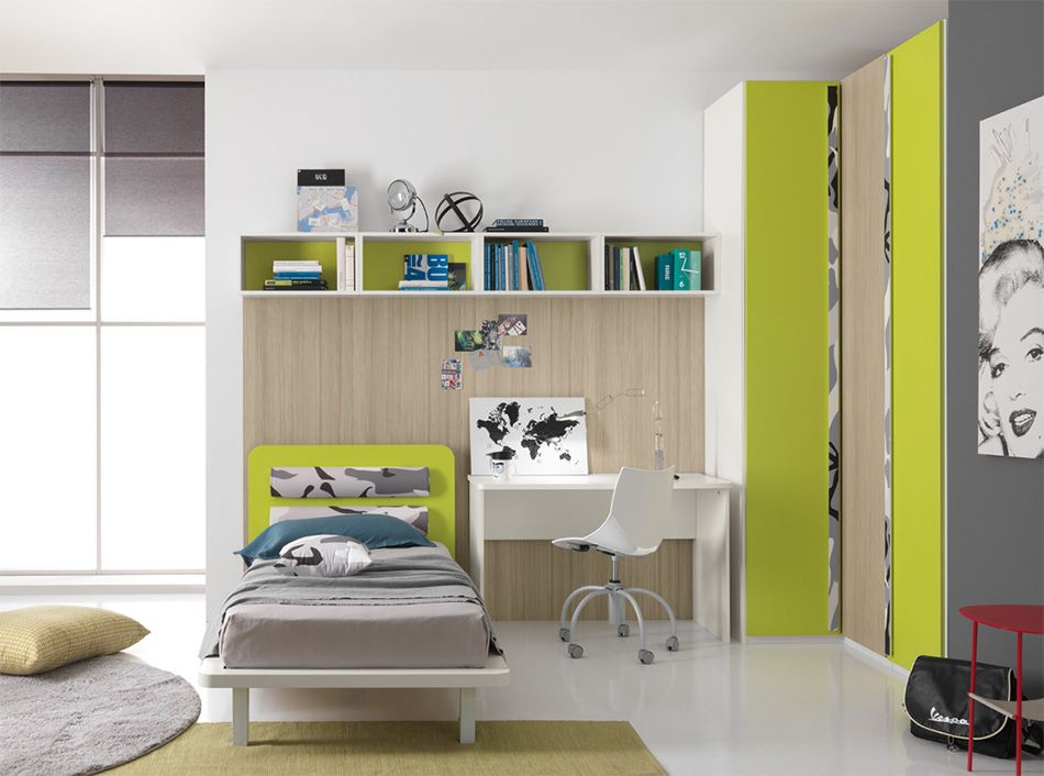 Spar Camerette A Ponte.Modern Italian Kids Room One 405 By Spar Small Modern Bedroom