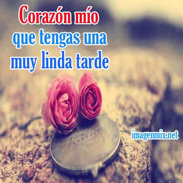 Tarjetas De Buenas Tardes Mi Amor Buenas Tardes
