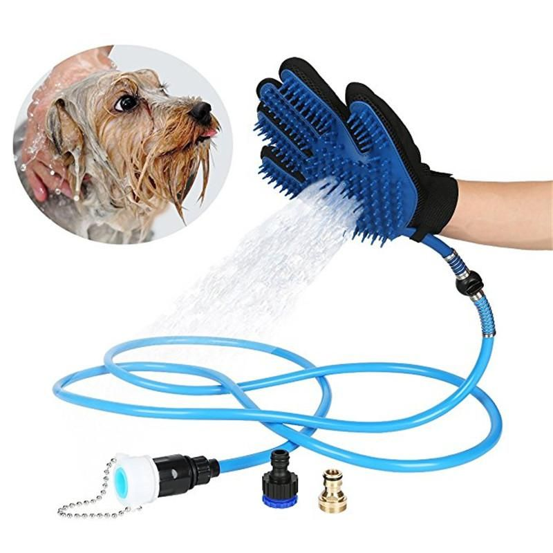 Dog Shower Massaging Glove Pet Grooming Dog Grooming Pets