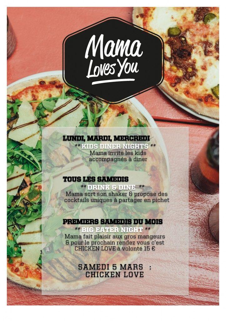 Mama Loves You Italian Food Restaurant Italian Recipes Good Pizza