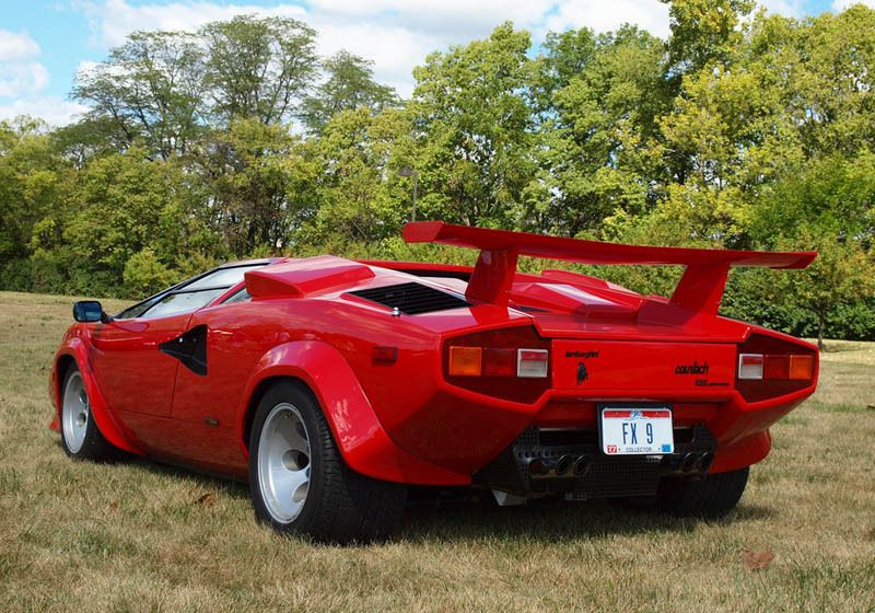 The Legendary Lamborghini Countach Lamborghini Countach